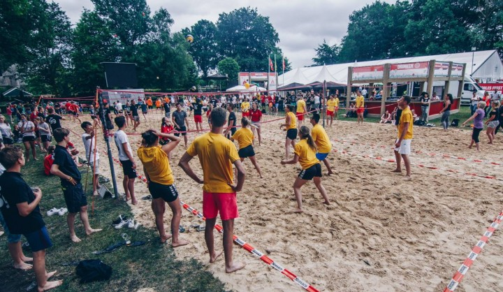 Beachvolleybal opgave is inmiddels vol
